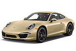 Front three quarter view of a .2012 Porsche Carrera S Coupe