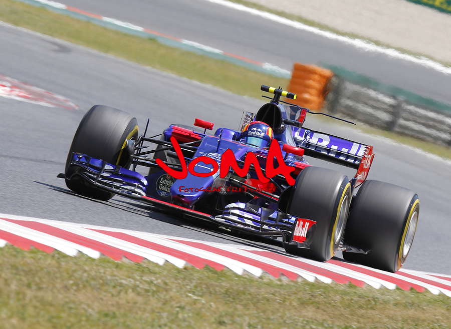 Carlos Sainz  (ESP) Toro Rosso  at  Formula 1, Spanish Grand Prix, Barcelona.