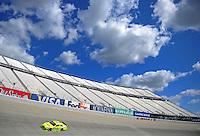 Sept. 19, 2008; Dover, DE, USA; Nascar Sprint Cup Series driver Paul Menard during practice for the Camping World RV 400 at Dover International Speedway. Mandatory Credit: Mark J. Rebilas-
