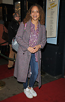 Angela Griffin at the &quot;Home, I'm Darling&quot; press night, Duke of York's Theatre, St Martin's Lane, London, England, UK, on Tuesday 05th February 2019.<br /> CAP/CAN<br /> &copy;CAN/Capital Pictures