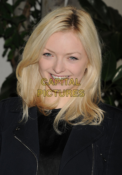 Francesca Fisher-Eastwood.W Magazine's 69th Annual Golden Globe Awards Celebration held at The Chateau Marmont, West Hollywood, California, USA..13th January 2012.headshot portrait black .CAP/ROT/TM.©Tony Michaels/Roth Stock/Capital Pictures