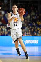 Axel Hervelle. FC Barcelona Regal vs Uxue Bilbao Basket