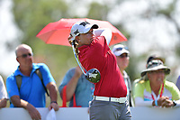 PATTAYA, THAILAND - FEBRUARY 22: Katherine Kirk of Australia on the 18th tee during the second round of the Honda LPGA Thailand 2019 at Siam Country Club Pattaya (Old Course), Pattaya, Thailand on February 22, 2019.<br /> .<br /> .<br /> .<br /> (Photo by: Naratip Golf Srisupab/SEALs Sports Images)<br /> .<br /> Any image use must include a mandatory credit line adjacent to the content which should read: Naratip Golf Srisupab/SEALs Sports Images