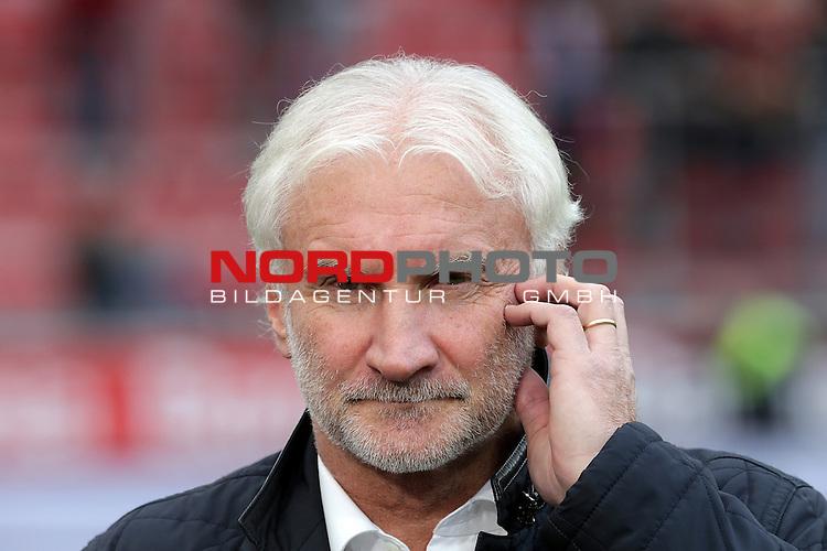 22.10.2016, BayArena, Leverkusen, GER, 1.FBL, Bayer 04 Leverkusen vs TSG 1899 Hoffenheim<br /> Rudi V&ouml;ller (Leverkusen)<br /> <br /> Foto &copy; nordphoto / Bratic