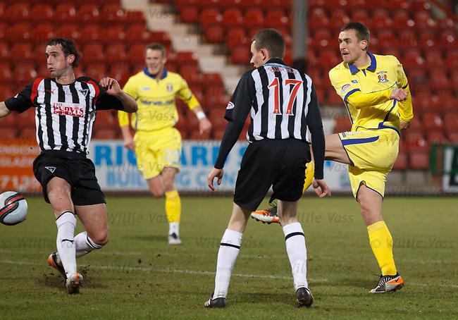 James Fowler scores for Kilmarnock
