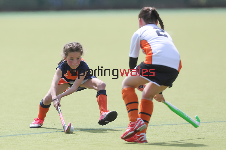 Welsh Youth Hockey Cup Final U11 Girls<br /> Dysynni v Swansea<br /> Swansea University<br /> 06.05.17<br /> ©Steve Pope - Sportingwales