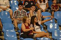 RIO DE JANEIRO, RJ, 12 AGOSTO 2012 - FLUMINENSE X PALMEIRAS - Torcedores do Fluminense prestigiam o time neste domingo de dia dos pais, durante a partida Fluminense x Palmeiras valido pela 16 rodada do Campeonato Brasileiro no Estaio Joao Havelange, Engenhao, nesta domingo, 12, na zona norte do rio(FOTO:MARCELO FONSECA / BRAZIL PHOTO PRESS).