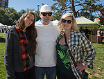 Jessica Lally, Joseph Dice and Cassandra Dittus during the inaugural Bud and Brew Music Festival in Wingfield Park in downtown Reno on Saturday, Sept. 23, 2017.
