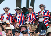 England fans, and a fashion statement? during England vs New Zealand, ICC World Cup Cricket at The Riverside Ground on 3rd July 2019