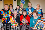 Muckross ICA showing off some of the crafts they have made at their meeting in Muckross Community hall on Sunday Front row: Ester Cahill Regional vice President, Liz O'Leary Kerry president and Sheila O'Donoghue Muckross President back l-r: Sheila Doona, Nancy Hegarty, Eileen Murphy, Peig Coffey, Patricia Barry, Caroline O'Donoghue.