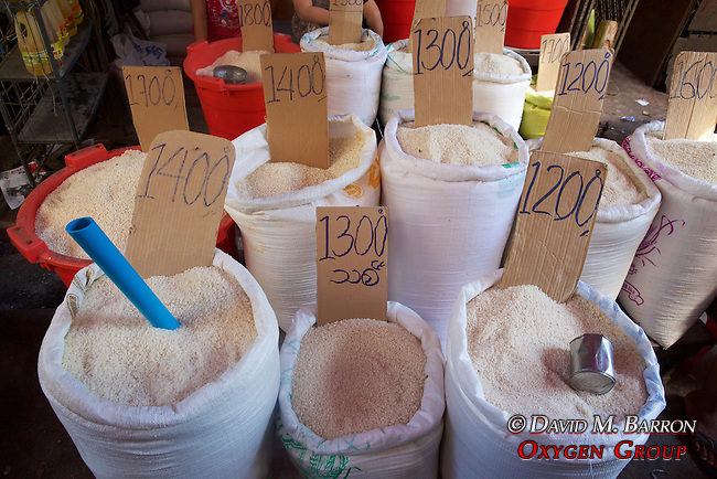 Rice For Sale, Gyee Zai Market