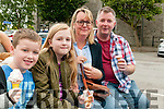 Family Fun Day: Attending the family fun day in the Square, Listowel on Sunday afternoon last wereJack, Keira, Wendy & James Sheehy.