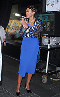 NEW YORK, NY - August 09: Robin Roberts on the set of Good Morning America in New York City on  August 09, 2018. Credit: RW/MediaPunch