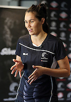 07.10.2015 Silver Ferns Ameliaranne Wells at the naming of the Silver Ferns squad for the upcoming series against Australia. Mandatory Photo Credit ©Michael Bradley.