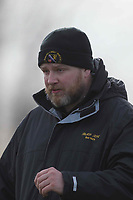Romford & Gidea Park head coach Jordan Wigham Romford & Gidea Park RFC vs Woodford RFC, London 2 North East Division Rugby Union at Crowlands on 9th March 2019