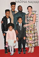David Oyelowo, Jessica Oyelowo &amp; their kids at the &quot;Queen of Katwe&quot; 60th BFI London Film Festival Virgin Atlantic gala screening, Odeon Leicester Square cinema, Leicester Square, London, England, UK, on Sunday 09 October 2016.<br /> CAP/CAN<br /> &copy;CAN/Capital Pictures /MediaPunch ***NORTH AND SOUTH AMERICAS ONLY***