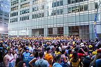 NOVA YORK, EUA, 02.09.2018 - BR DAY-EUA - Público ocupa a Sexta Avenida durante o BR Day New York 2018 na cidade de Nova York nos Estados Unidos neste domingo, 02.(Foto: Vanessa Carvalho/Brazil Photo Press)