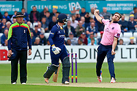 Tim Southee in bowling action for Middlesex during Essex Eagles vs Middlesex, NatWest T20 Blast Cricket at The Cloudfm County Ground on 11th August 2017