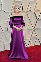 LOS ANGELES, CA. February 24, 2019: Lucy Boynton at the 91st Academy Awards at the Dolby Theatre.<br /> Picture: Paul Smith/Featureflash