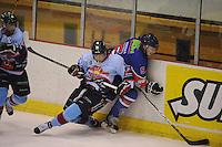 IJSHOCKEY: HEERENVEEN: IJsstadion Thialf, 22-12-2012, Eredivisie, Friesland Flyers - HYS Den Haag, Sander Dijkstra (#5)©foto Martin de Jong