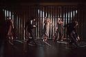 "London, UK. 31.05.2012. Rambert Dance Company presents a Season of New Choreography 2012 at the Queen Elizabeth Hall, Southbank, London. Picture shows: ""The Window"", choreographed by Dane Hurst. Dancers in this piece are: Angela Towler (centre), Miguel Altanuga, Lucia Barbadillo, Eryck Brahmania, Antonette Dayrit, Robin Gladwin, Vanessa Kang, Mark Kimmett, Estela Merlos, Hannah Rudd, Jon Savage, Stephen Wright,."