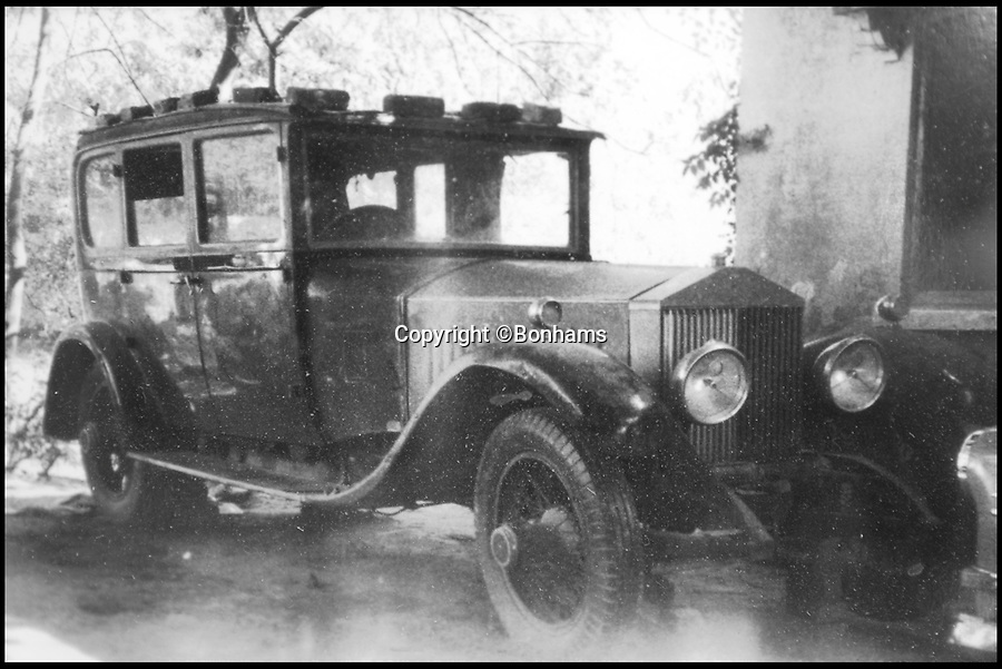 BNPS.co.uk (01202 558833)<br /> Pic: Bonhams/BNPS<br /> <br /> The Maharana used the Roller for Tiger hunting expeditions.<br /> <br /> The Rolls from Rajputana... this regal Rolls-Royce formerly owned by an Indian Maharana who was at odds with George V has emerged for a whopping £400,000. <br /> <br /> The Silver Ghost was special ordered in 1914 by His Highness the Maharana Sir Fateh Singh Bahadur of Udaipur - a longtime ruler of a princely state in the British Raj.  <br /> <br /> While clearly a fan of British engineering Fateh Singh Bahadur riled the sovereign when he refused to welcome Edward, Prince of Wales, later Edward VIII, to India in 1921. <br /> <br /> The vintage motor will be sold by Bonhams auctioneer at the Goodwood Festival of Speed in West Sussex on June 30.