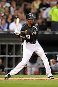 Chicago White Sox shortstop Alexei Ramirez (10) during a game vs. the Detroit Tigers at U.S. Cellular Field in Chicago, Illinois August 13, 2010.   Chicago defeated Detroit 8-4.  Photo By Mike Janes/Four Seam Images