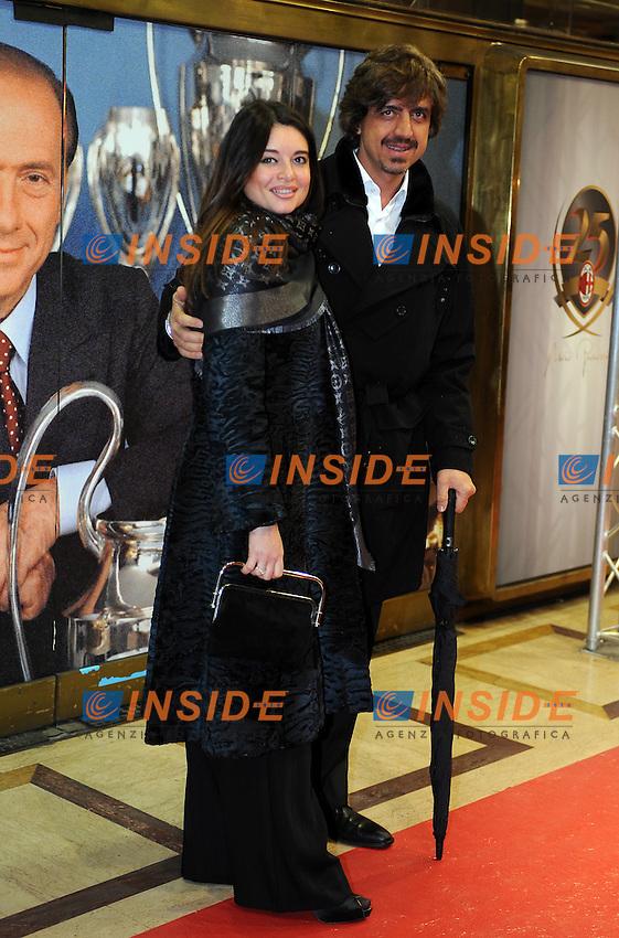 Valerio STAFFELLI<br /> Milano, 13/03/2011 Teatro Manzoni<br /> 25&deg; anniversario di presidenza Berlusconi al Milan<br /> Campionato Italiano Serie A 2010/2011<br /> Foto Nicolo' Zangirolami Insidefoto