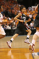 8 April 2008: Stanford Cardinal Cissy Pierce during Stanford's 64-48 loss against the Tennessee Lady Volunteers in the 2008 NCAA Division I Women's Basketball Final Four championship game at the St. Pete Times Forum Arena in Tampa Bay, FL.