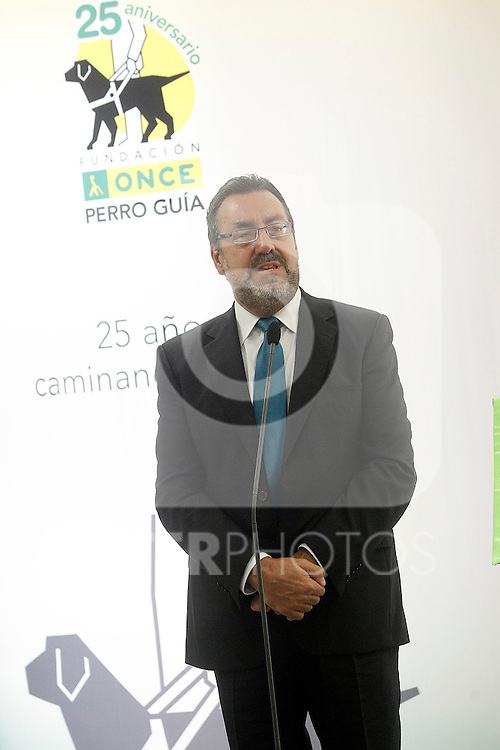 ONCE's President Miguel Carballeda attends the 25th anniversary of 'Perro Guia ONCE's Foundation'. September 24, 2015.(ALTERPHOTOS/Acero)