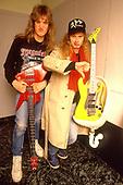 1986: MEGADETH - Backstage on Wake Up Dead Tour - USA