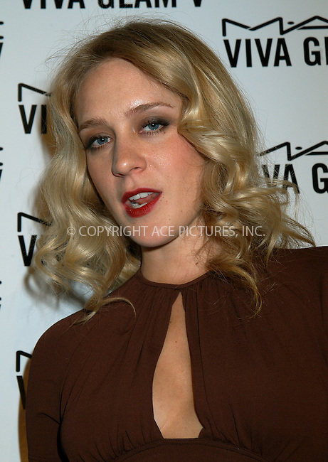 M.A.C. Cosmetics announces Chloe Sevigny as spokesperson for the M.A.C. AIDS Fund's new Viva Glam V Campaign. New York, February 11, 2004. Please byline: AJ SOKALNER/ACE Pictures.   ..*PAY-PER-USE*      ....IMPORTANT: Please note that our old trade name, NEW YORK PHOTO PRESS (NYPP), is replaced by new name, ACE PICTURES. New York Photo Press and ACE Pictures are owned by All Celebrity Entertainment, Inc.......All Celebrity Entertainment, Inc:  ..contact: Alecsey Boldeskul (646) 267-6913 ..Philip Vaughan (646) 769-0430..e-mail: info@nyphotopress.com