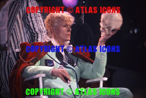 David Bowie At Madison Square Garden, In New York City, .Photo Credit: Eddie Malluk/Atlas Icons.com