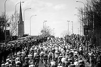 amazing crowds all along the route <br /> <br /> 99th Ronde van Vlaanderen 2015