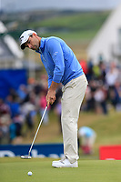 Oliver Wilson (ENG) putts on the 15th green during Saturday's Round 3 of the Dubai Duty Free Irish Open 2019, held at Lahinch Golf Club, Lahinch, Ireland. 6th July 2019.<br /> Picture: Eoin Clarke | Golffile<br /> <br /> <br /> All photos usage must carry mandatory copyright credit (© Golffile | Eoin Clarke)