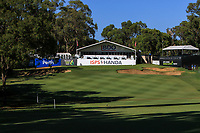 The 18th fairway and green during Round 2 of the ISPS Handa World Super 6 Perth at Lake Karrinyup Country Club on the Friday 9th February 2018.<br /> Picture:  Thos Caffrey / www.golffile.ie<br /> <br /> All photo usage must carry mandatory copyright credit (&copy; Golffile | Thos Caffrey)
