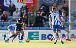 06.10.18 Dundee v Kilmarnock: Adil Nabi takes the ball to score for Dundee