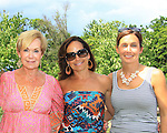mom Anne - sister Kathryn & sister Beth - Splash benefitting Hearts of Gold was held at the home of Cheryl and Michael Barrett on June 28, 2013 in Briarcliff Manor, New York with Boutique shopping, raffle/silent auction, poolside luncheon, sizzling summer fashion show - Hearts of Gold Deborah Koenigsbberger headed the event.  (Photo by Sue Coflin/Max Photos)