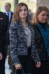 Queen Letizia of Spain attends the `Spain UNICEF Foundation´ board meeting in Madrid, Spain. Month XX, 2015. (ALTERPHOTOS/Victor Blanco)