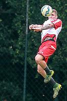 SÃO PAULO, SP, 12.11.2015 - FUTEBOL-SAO PAULO -  Yago Maidana durante treino do São Paulo Futebol Clube no Centro de Treinamento da Barra Funda, nesta quinta-feira, 12. (Foto: Vanessa Carvalho/Brazil Photo Press)