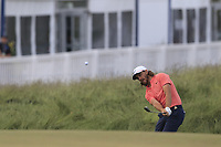 Tommy Fleetwood (ENG) chips onto the 13th green during Saturday's Round 3 of the 118th U.S. Open Championship 2018, held at Shinnecock Hills Club, Southampton, New Jersey, USA. 16th June 2018.<br /> Picture: Eoin Clarke | Golffile<br /> <br /> <br /> All photos usage must carry mandatory copyright credit (&copy; Golffile | Eoin Clarke)
