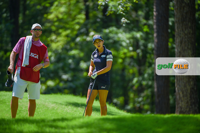 Jenny Shin (KOR) looks over her tee shot on 2 during round 3 of the U.S. Women's Open Championship, Shoal Creek Country Club, at Birmingham, Alabama, USA. 6/2/2018.<br /> Picture: Golffile   Ken Murray<br /> <br /> All photo usage must carry mandatory copyright credit (© Golffile   Ken Murray)