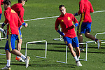 Spainsh Lucas Vazquez during the training of the spanish national football team in the city of football of Las Rozas in Madrid, Spain. November 09, 2016. (ALTERPHOTOS/Rodrigo Jimenez)