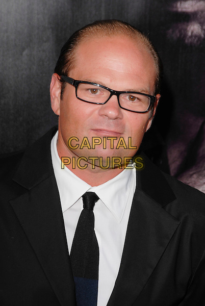 "CHRIS BAUER .arriving at the Los Angeles premiere of Season 2 of the HBO series ""True Blood"" on the backlot at Paramount Pictures Studio in Hollywood, California, USA, June 9th 2009..portrait headshot glasses black tie suit white shirt .CAP/ROT.©Lee Roth/Roth Stock/Capital Pictures."