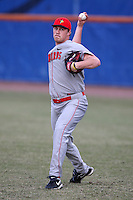 March 9, 2010:  Pitcher Jacob Wielebnicki of the Illinois State Redbirds during a game at McKethan Stadium in Gainesville, FL.  Photo By Mike Janes/Four Seam Images