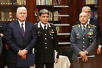 Antonio De Iesu , Questore di Napoli durante la conferenza stampa tenuta dopo ilComitato Provinciale Ordine e Sicurezza nella Prefettura di Napoli