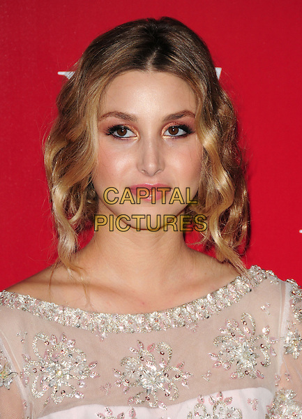 WHITNEY PORT.US Weekly's Hot Hollywood Party 2009 held at Voyeur, West Hollywood, California, USA. .November 18th, 2009.headshot portrait pink white beads beaded eyeshadow make-up silver sheer.CAP/RKE/DVS.©DVS/RockinExposures/Capital Pictures.
