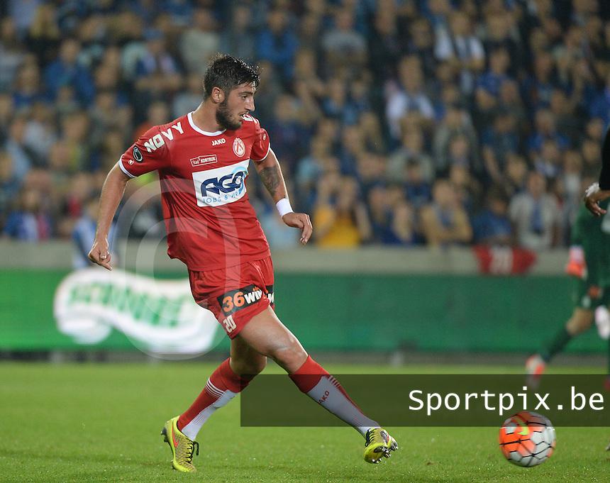 Club Brugge - KV Kortrijk : Samuel Gigot <br /> Foto VDB / Bart Vandenbroucke