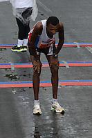 RIO DE JANEIRO-08/07/2012-Willy Cangogo, primeiro colocado na Maratona Caixa da Cidade do Rio de Janeiro, realizada no Aterro do Flamengo, zona sul do Rio.FOTO: Marcelo Fonseca-Brazil Photo Press