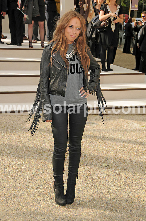 **ALL ROUND PICTURES FROM SOLARPIX.COM**                                             **WORLDWIDE SYNDICATION RIGHTS**                                                                                  Caption: The Burberry 2011 catwalk show as part of London Fashion Week at Chelsea College of Art and Design, London, UK. 21 September 2010                                                                              This pic: Chloe Green                                                                                 JOB REF: 12162 MSR       DATE: 21_09_2010                                                           **MUST CREDIT SOLARPIX.COM OR DOUBLE FEE WILL BE CHARGED**                                                                      **MUST AGREE FEE BEFORE ONLINE USAGE**                               **CALL US ON: +34 952 811 768 or LOW RATE FROM UK 0844 617 7637**